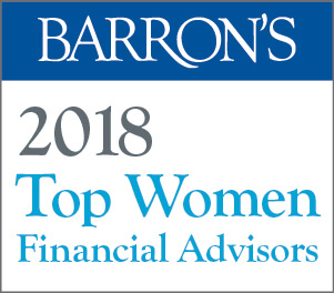 Barron's 2018 Top Women Financial Advisors logo